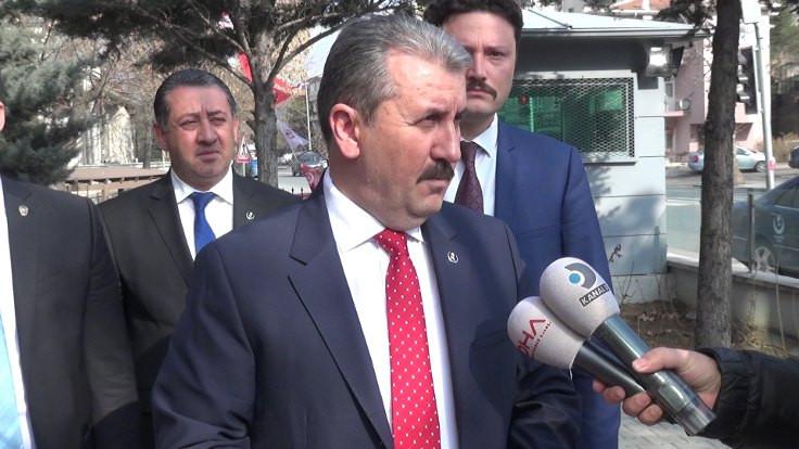 BBP, Cumhurbaşkanı Erdoğan'la görüştü