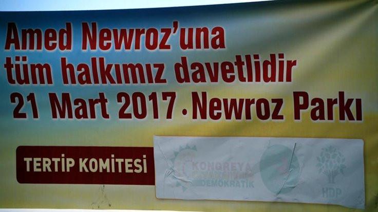 Newroz çağrılarında logolar kapatıldı