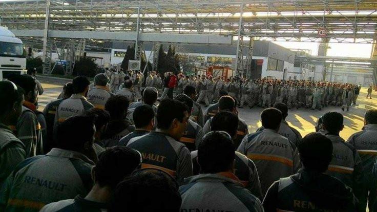 Avrupa'dan Renault işçilerine destek