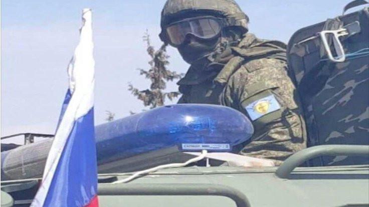 'Rus askerler SDG arması taktı'