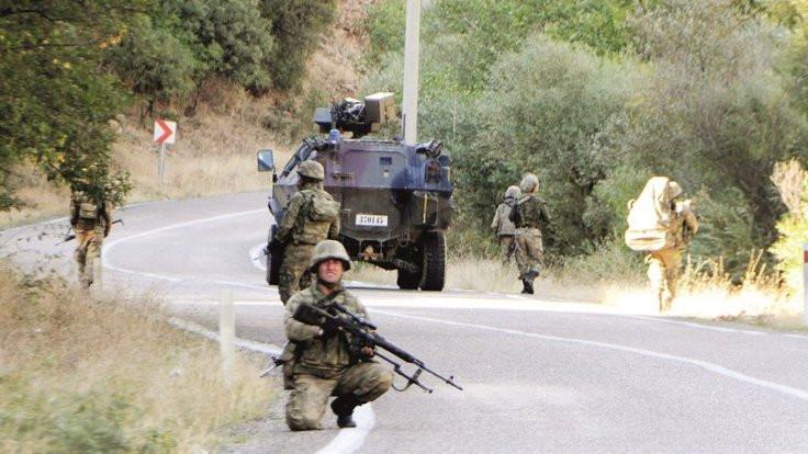 Tunceli'de 20 köy yolu kapatıldı