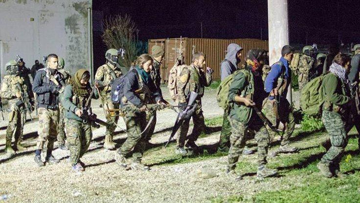 Tabka'ya indirilen YPG'liler görüntülendi