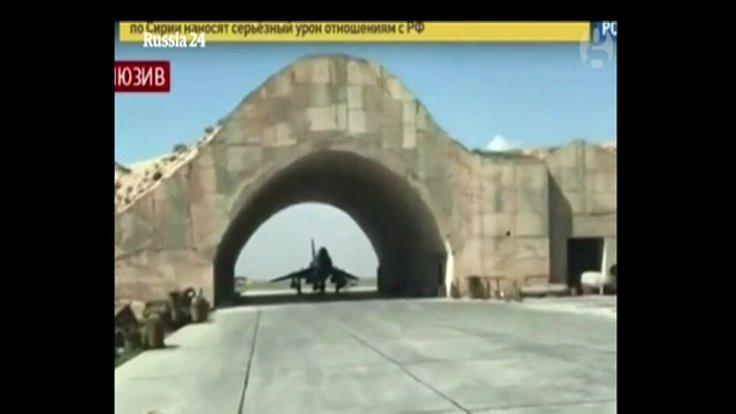 Suriye de görüntü yayınladı