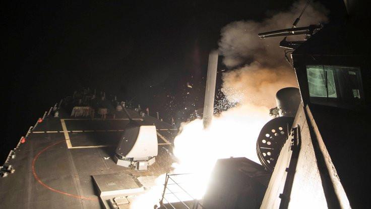 ABD, Suriye'yi füzeyle vurdu
