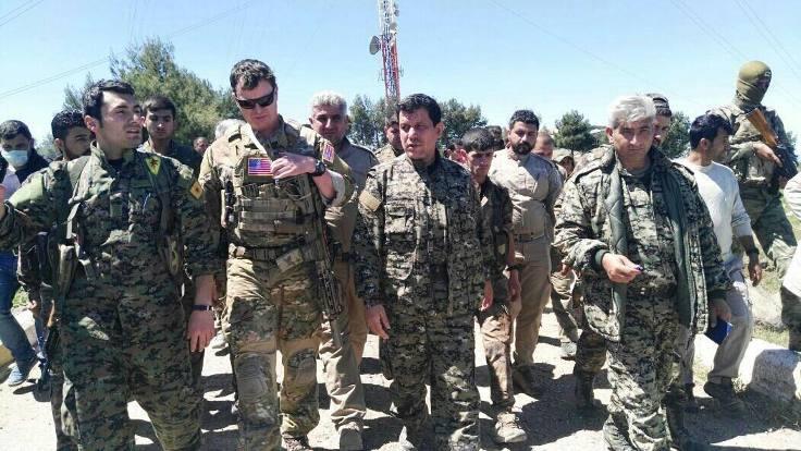 'Rojava sınırını ABD askerleri denetleyecek'