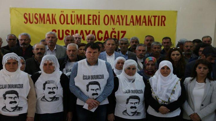 Tutuklu aileleri açlık grevine başladı