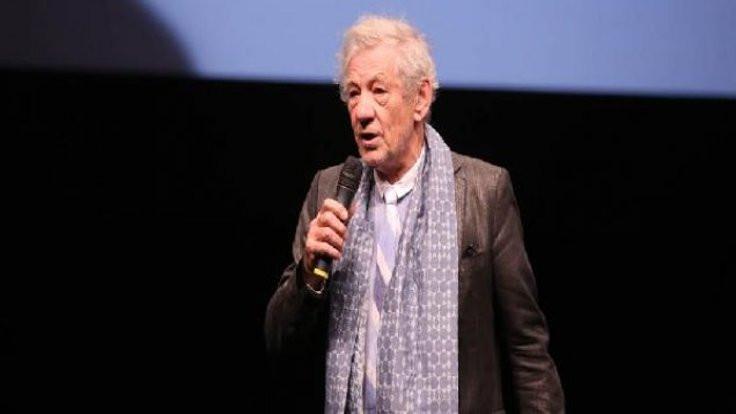 Açılışa Ian McKellen katıldı