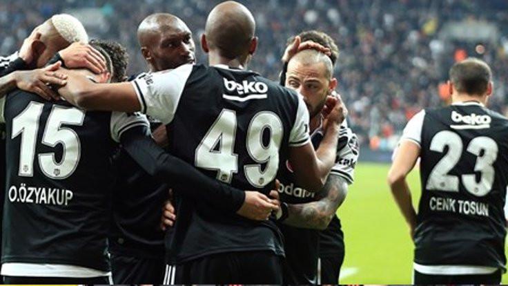 Beşiktaş sahadan 3 puanla ayrıldı