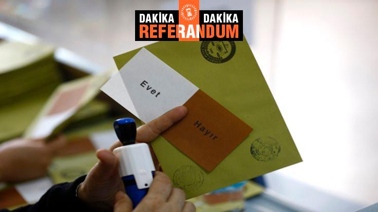 Canlı blog: Referandum sonuçları