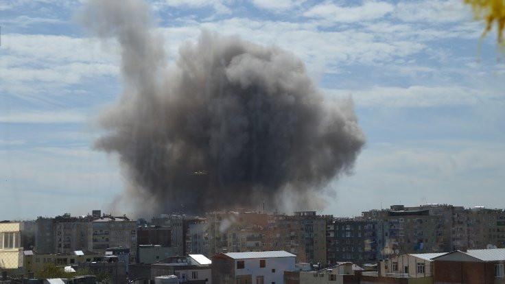 'Diyarbakır'da 1 ton patlayıcı kullanıldı'