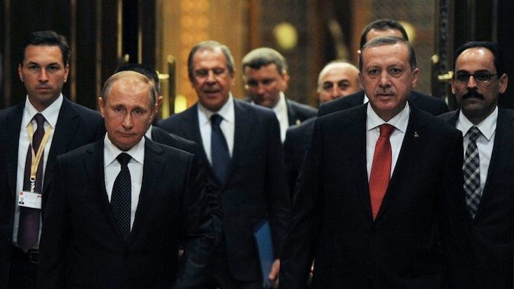 Erdoğan'dan Putin'e taziye