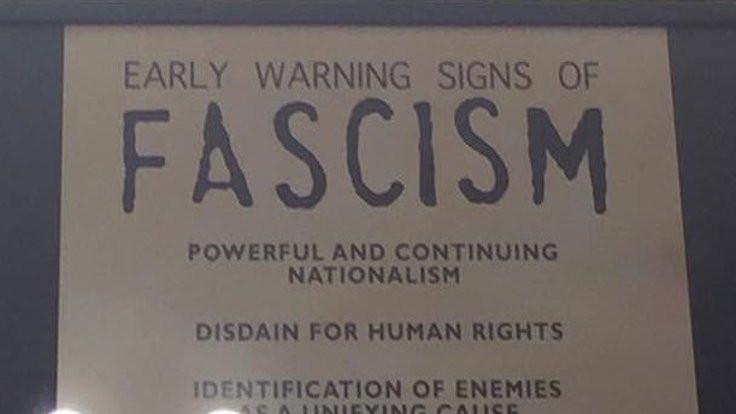 Faşizmin 14 erken işareti