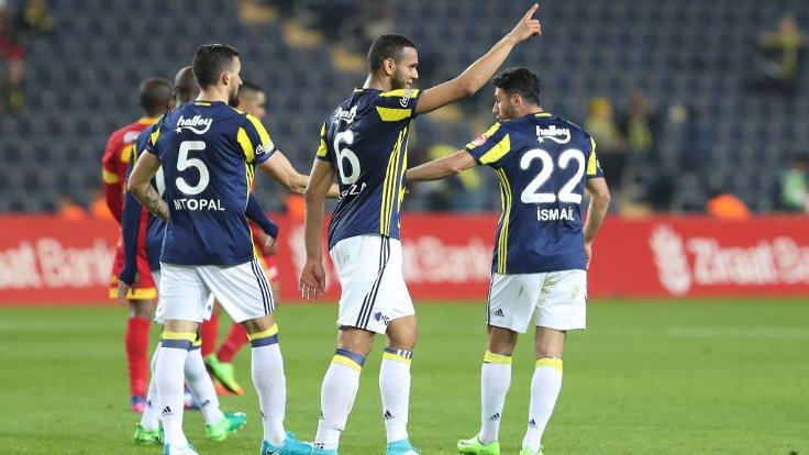 Fenerbahçe: 3 - Kayserispor: 0