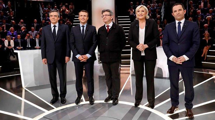 Fransa'da seçimin galibi Macron ve Le Pen
