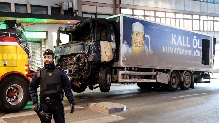 Stockholm kamyonu patlayıcı doluymuş!