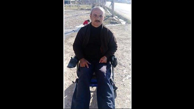 'Tekerlekli sandalyeme kayyım atadı'