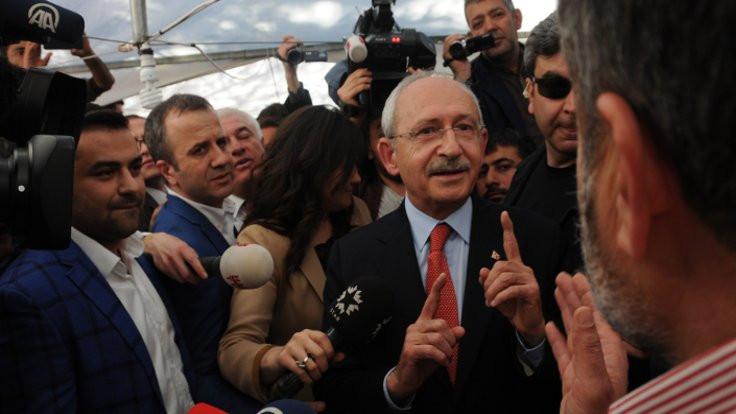 Kılıçdaroğlu 'evet' çadırında
