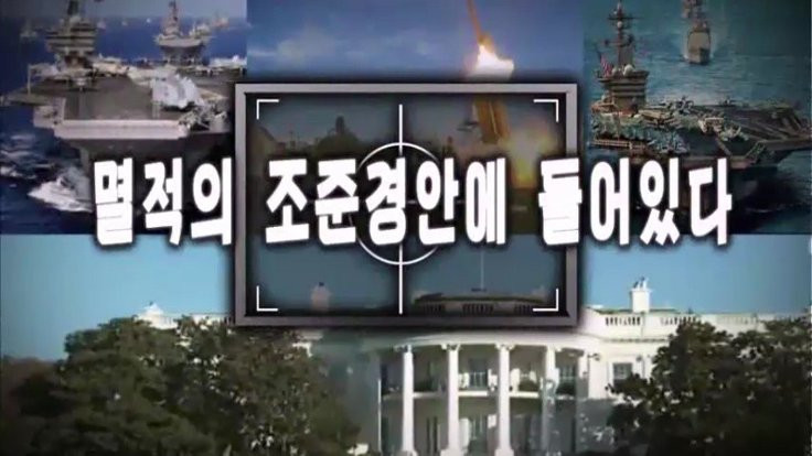 Kuzey Kore'nin ABD'yi vurduğu an!