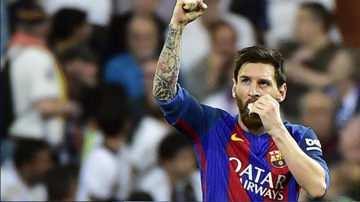 El Clasico'da skoru Messi belirledi