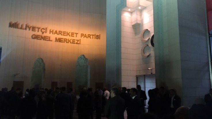 MHP'de sessiz sevinç