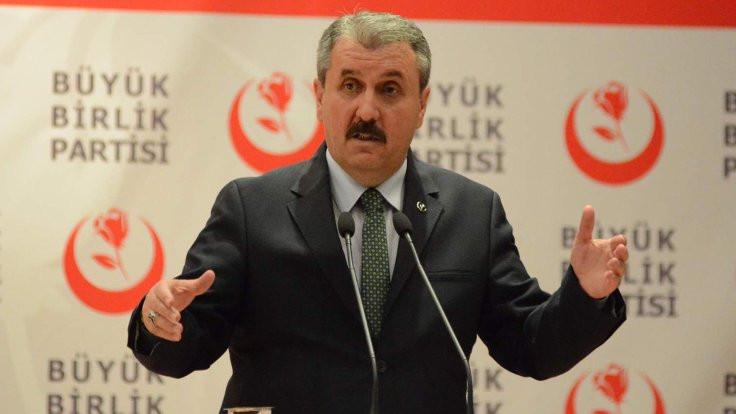 Mustafa Destici: Bu idam artık gelsin