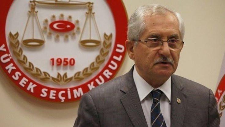 YSK Başkanı: Mühürsüz oyları geçerli saydık