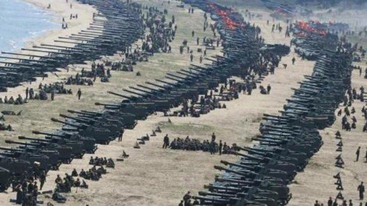 Kore'de savaşın ayak sesleri