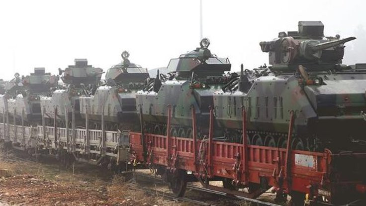 Sincar'a askeri harekat için Silopi'de yığınak