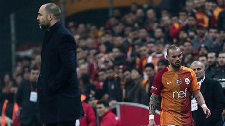 Sneijder ve Tudor'un 4-0 kavgası