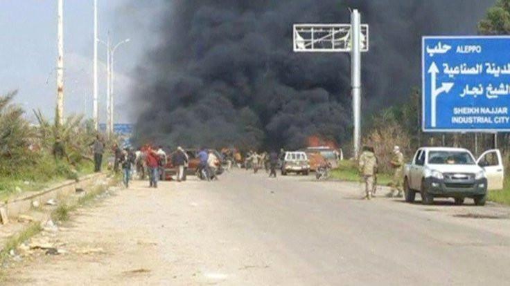 Tahliye konvoyuna bombalı saldırı