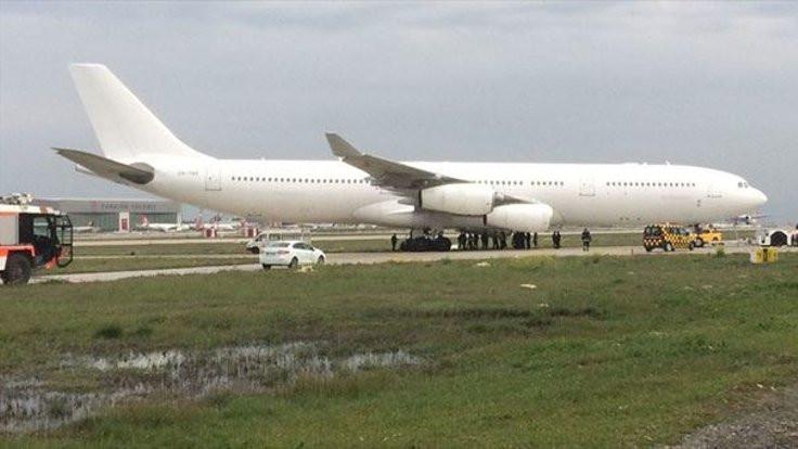 İstanbul'da uçak pistten çıktı
