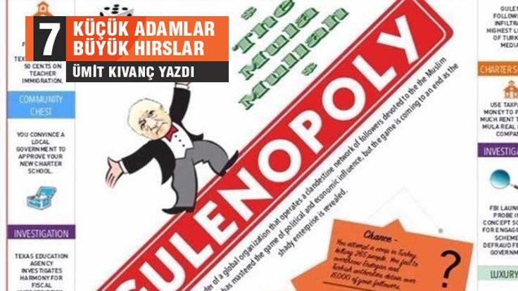 'Gulenopoly': Neye başarı diyorsan o kadarsın