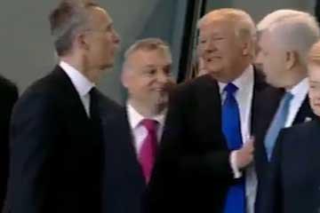 Trump NATO zirvesine damgasını vurdu