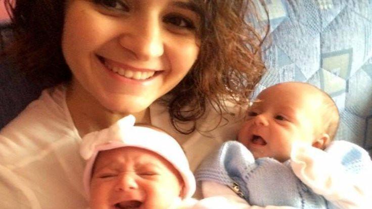İkiz bebekleriyle yaşamını yitirdi