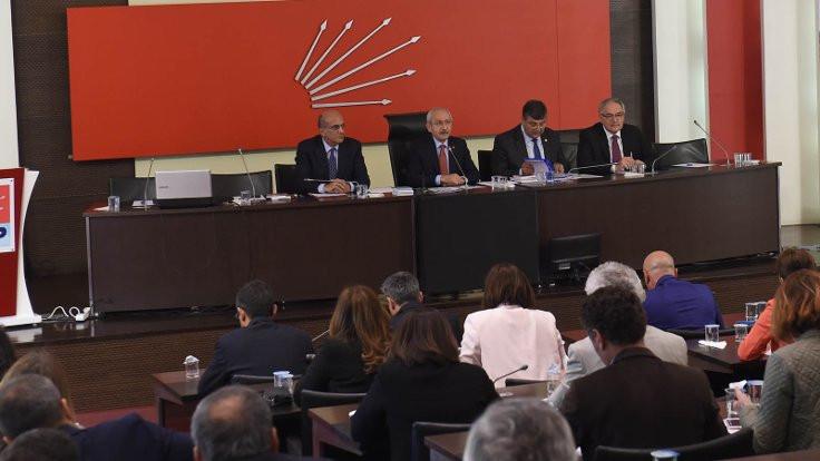 CHP Parti Meclisi Fikri Sağlar için toplandı