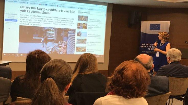 Gazetecilere mülteci hakları eğitimi