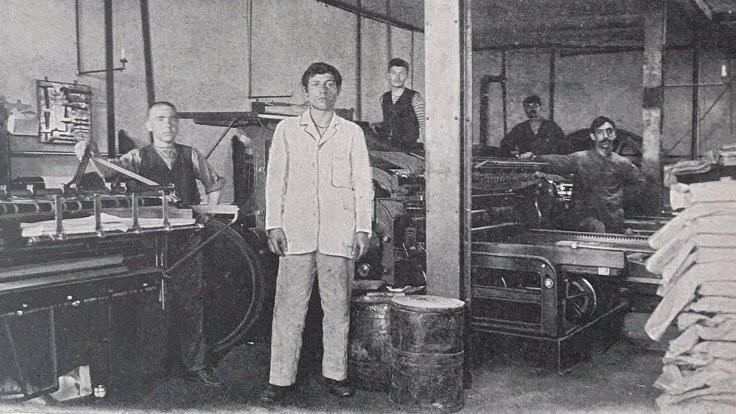 Servet-i Fünûn matbaasından fotoğraflar yayımlandı
