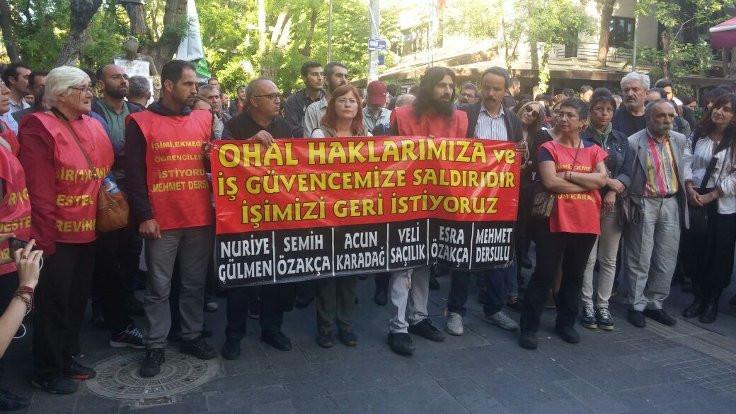 CHP'li milletvekilleri açlık grevine başladı