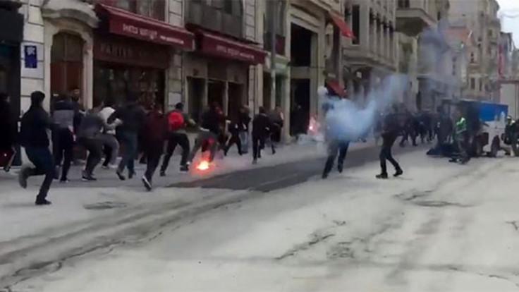 İstiklal Caddesi'nde kavga, Şirinevler'de saldırı