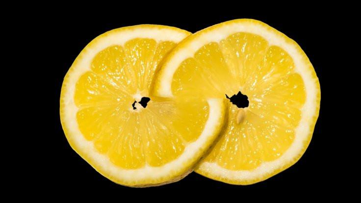Uykuda bir parça limon