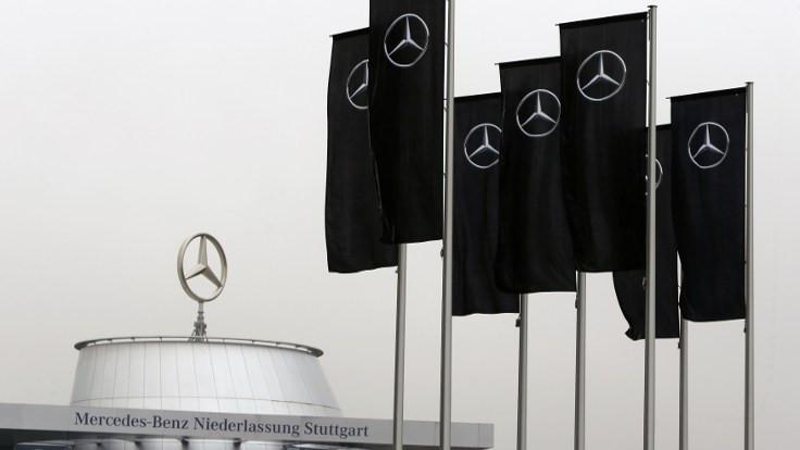 Mercedes tesislerinde arama yapılıyor