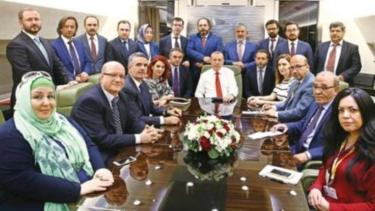 Erdoğan'ın uçağından hâkimlere uyarı