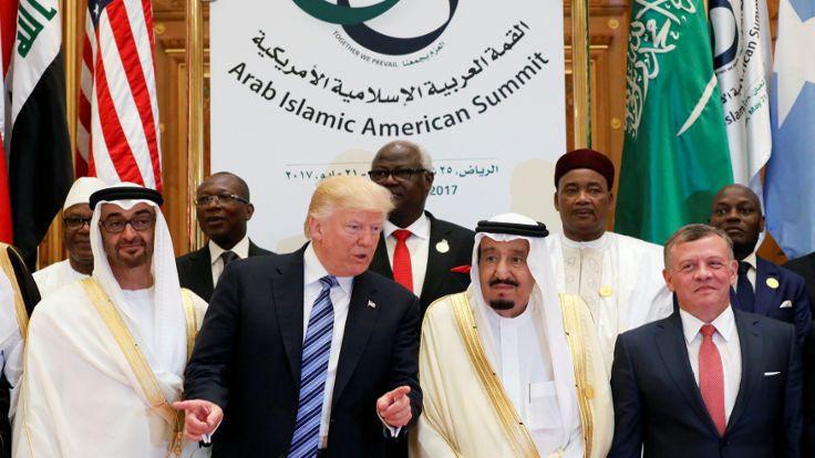 Trump: Arabistan İslam dünyasının kalbi