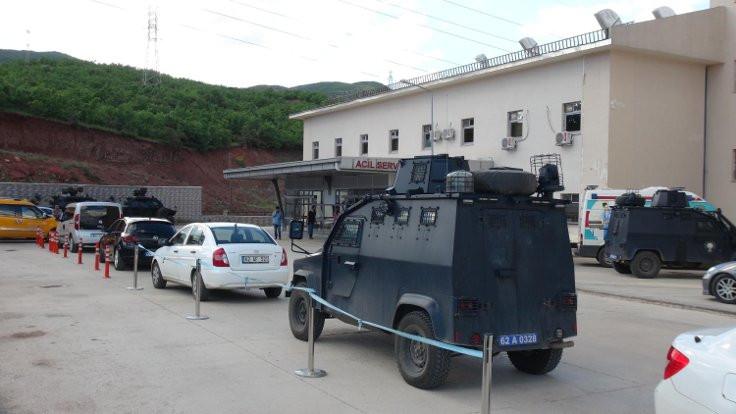 Tunceli'de 1 asker yaralandı