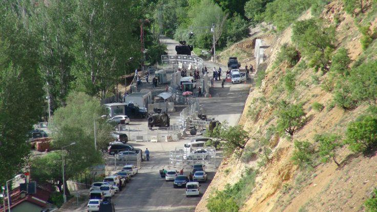 Tunceli'de canlı bomba saldırısı