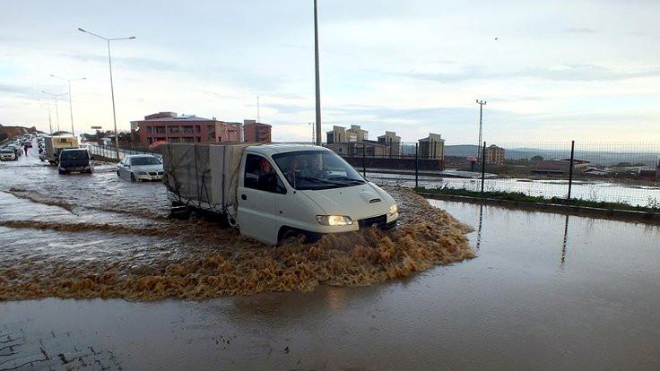Yozgat'ı sel aldı!