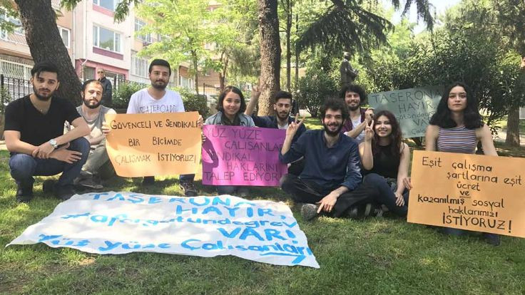 Af Örgütü'nde 'yüz yüze' grevi
