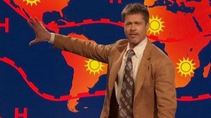 Brad Pitt'ten hava durumu: Gelecek yok!