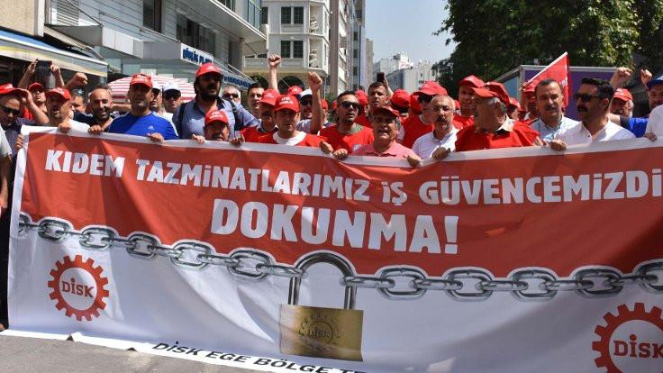 Çerkezoğlu: DİSK emekçinin sesi ve nefesi olmaya devam edecek
