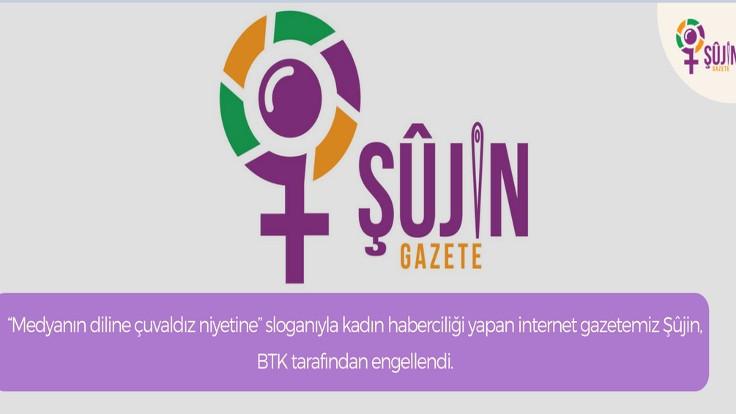 Gazete Şujin'a erişim engeli
